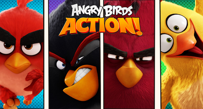 App Review: Angry Birds Action! - Crossgates Shopping Centre
